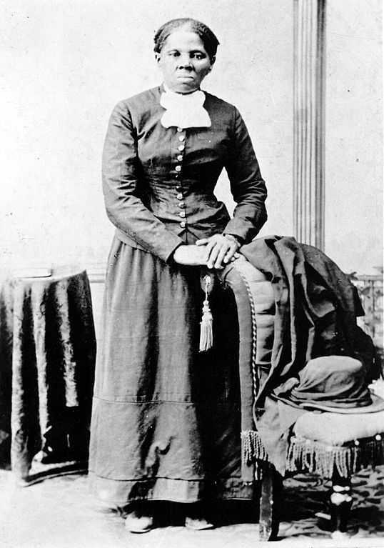 The young Harriet Tubman